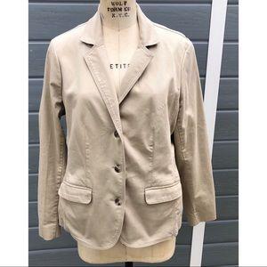 LL Bean Classic tan blazer